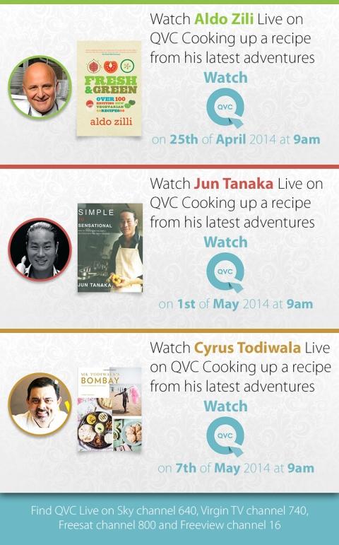 Celeb Chefs on TV